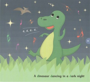 abcd chants - dinosaur dancing