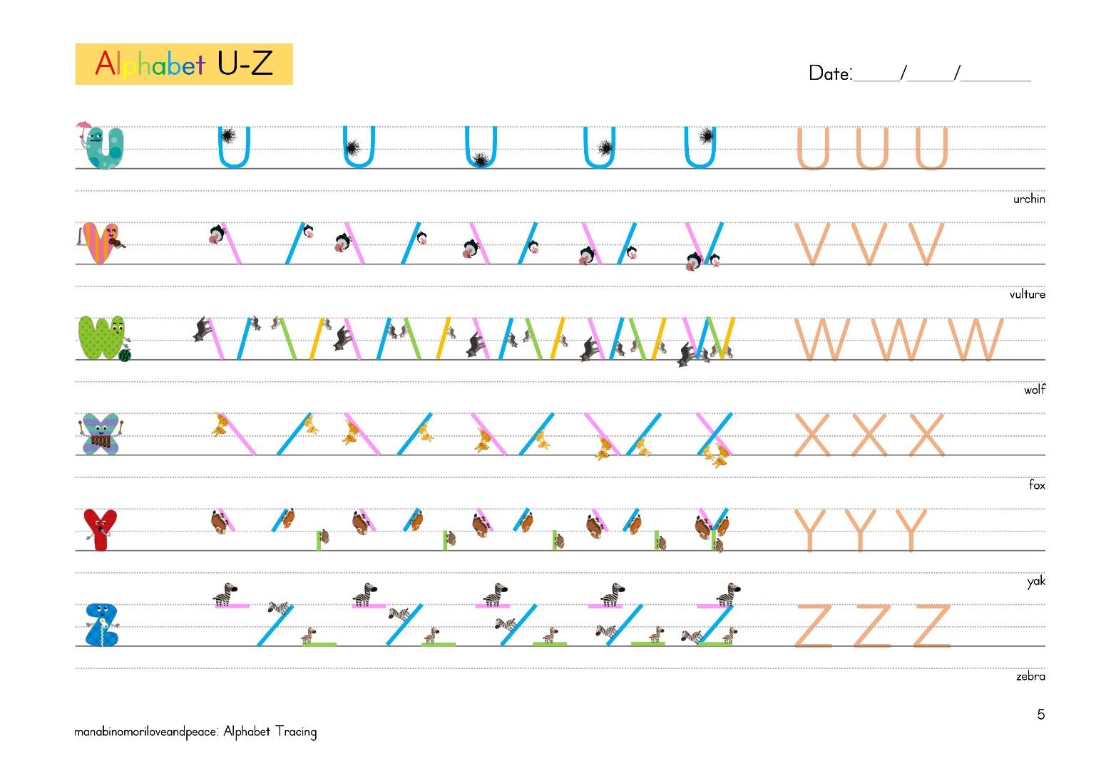 すべての講義 アルファベットの書き順 : ★アルファベットの書き順が ...
