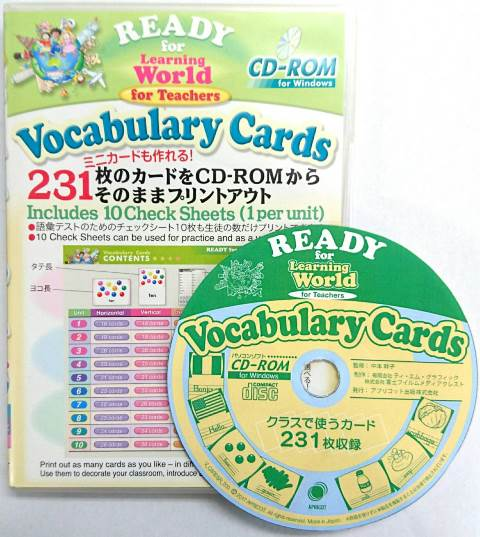 Vocabulary Cards CD-ROM